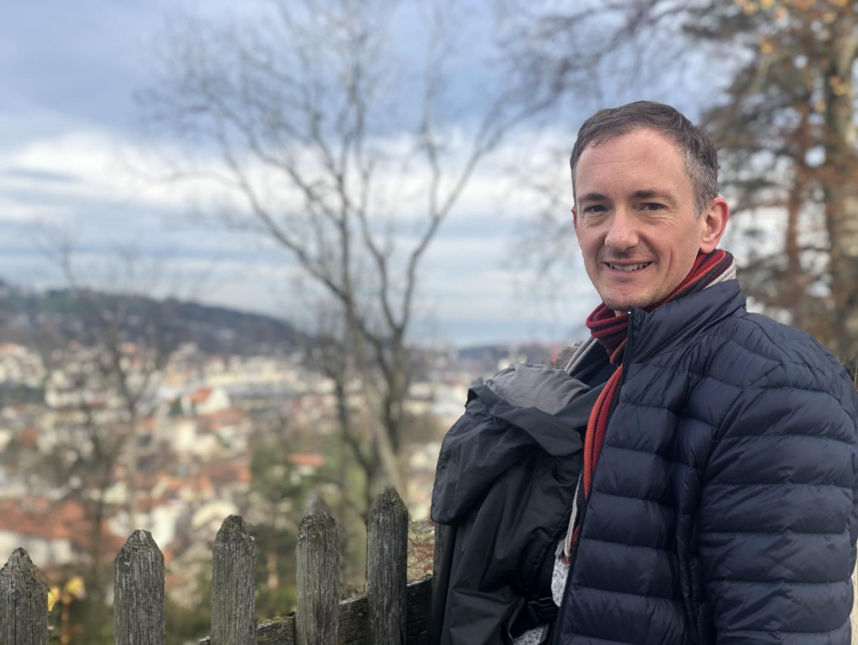 Mit Henri unterwegs in St.Gallen.